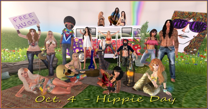 Oct. 4 Hippy Day